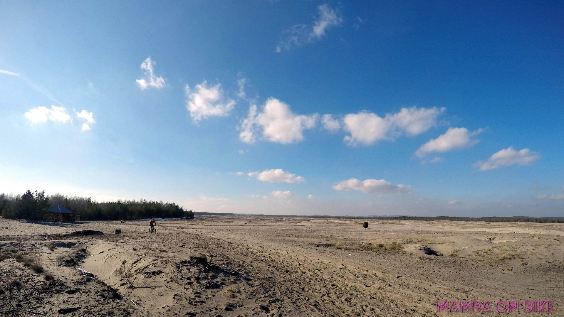 rowerem po pustyni