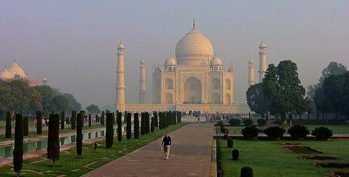 INDIEN, Agra - Taj Mahal - Mausoleum , serie , 13353/6243