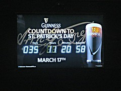 Countdown to St Patrick's Day