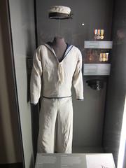 Erstwhile navy uniform- the sign says 'Boy Sailor'
