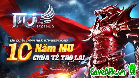 MU Origin – VN v2.0.0 hack full cho Android