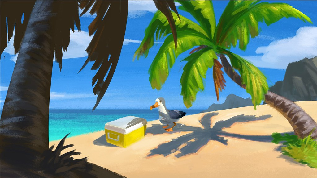 Gary the Gull on PlayStation VR