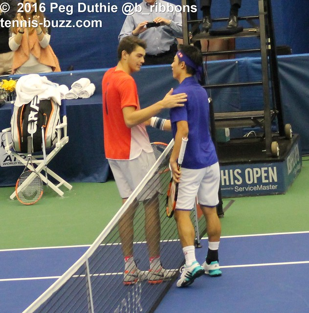 Taylor Fritz and Kei Nishikori