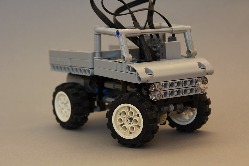 Moc Tiny Unimog 406 Dump Truck Lego Technic And Model Team