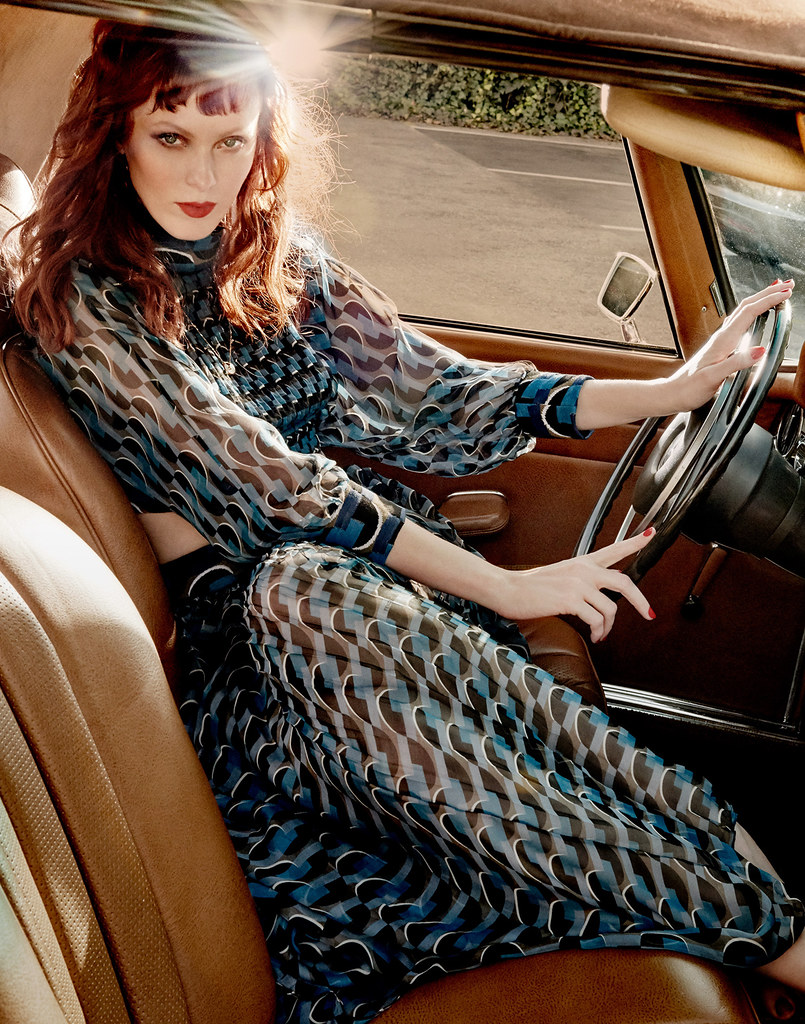 Карен Элсон — Фотосессия для «Harper's Bazaar» SG 2016 – 6