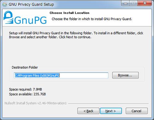 Installing GnuPG for Windows (4)