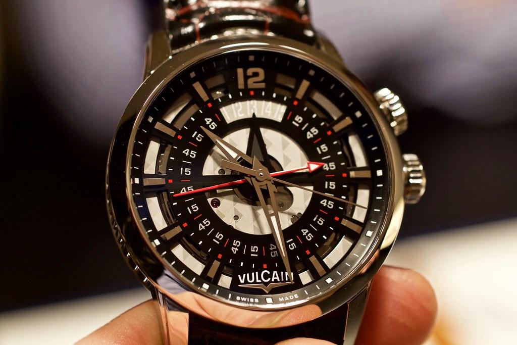 vulcain - Baselworld 2016 : Vulcain 25326427663_37edfe36a3_b