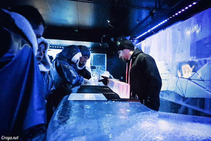 2016.03.24 ▐ 看我歐行腿 ▐ 斯德哥爾摩的 ICEBAR 冰造酒吧,奇妙緣份與萍水相逢的台灣鄉親破冰共飲 23.jpg