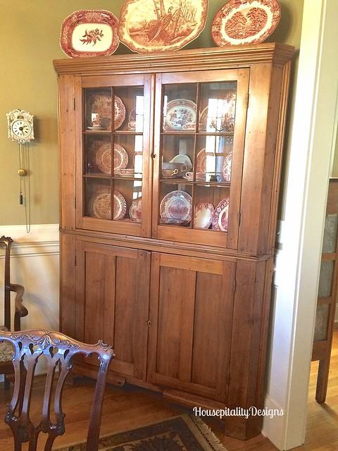 Corner cupboard - Housepitality Designs