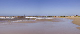 Image of La Calavera. panorama lighthouse beach faro uruguay lumix sand playa paisaje panasonic arena cabopolonio rocha balneario gh3 microfourthirds microcuatrotercios edgardoolivera