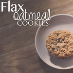 Flax Oatmeal Cookie REcipe