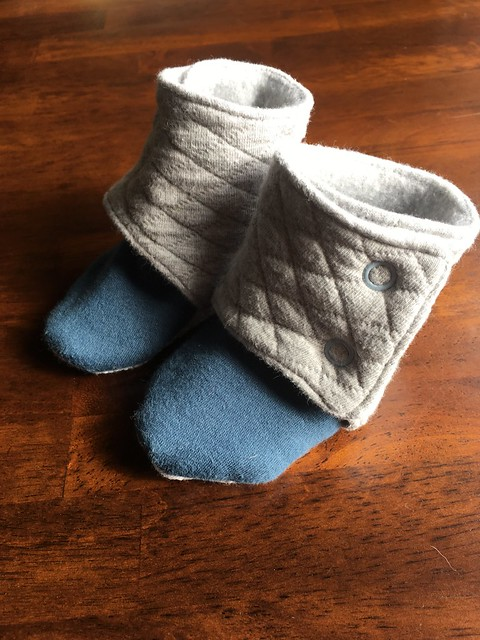 Maggie's Stay-On Baby Booties
