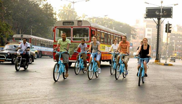 Guided Bicycle Tour Mumbai