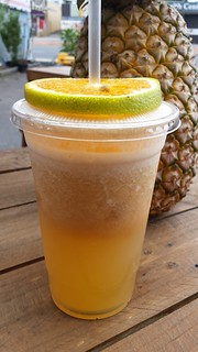 Liquid Gold Juice from Charlie's Raw Squeeze Everton Park