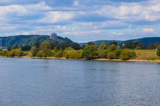 Danube river.Kelheim, Regensburg. Bavaria, Germany.