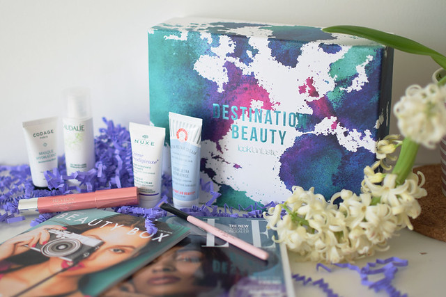 Lookfantastic March Beauty Box packaging and what's inside