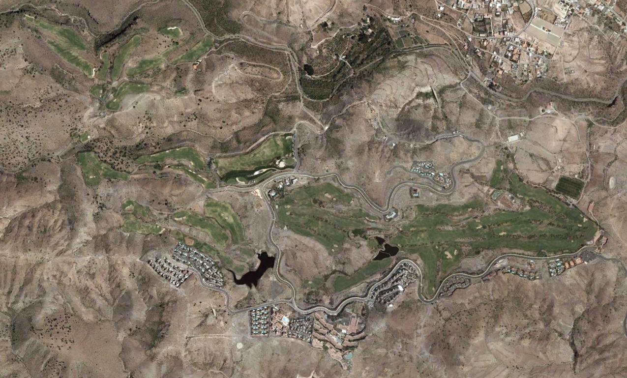 salobre golf, gran canaria, las palmas, regar con salmuera, después, urbanismo, planeamiento, urbano, desastre, urbanístico, construcción, rotondas, carretera