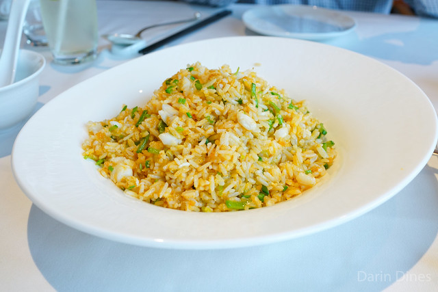 Lung King Heen Lobster Fried Rice with Seafood