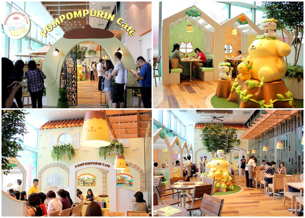 pompompurin cafe orchard central