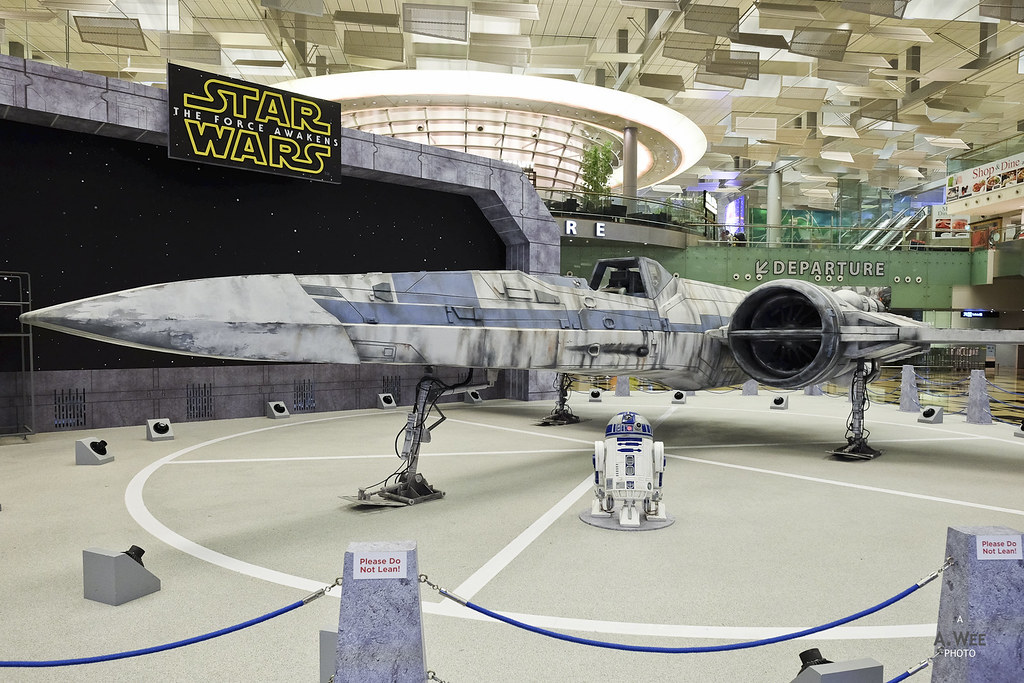 Model of the X-Wing Fighter