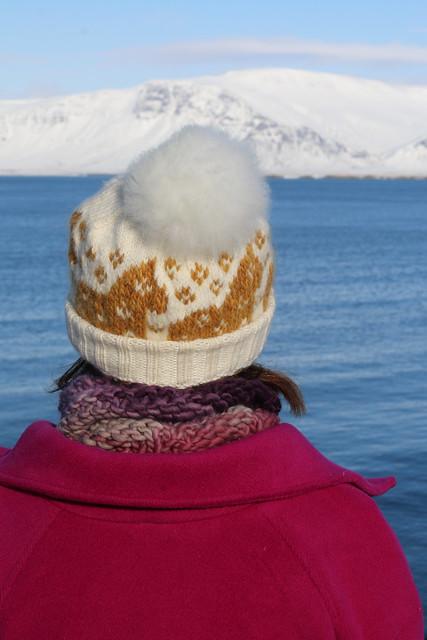 Clare Coat, Karusellen Hat, & Cecelia Cowl in Reykjavic, Iceland