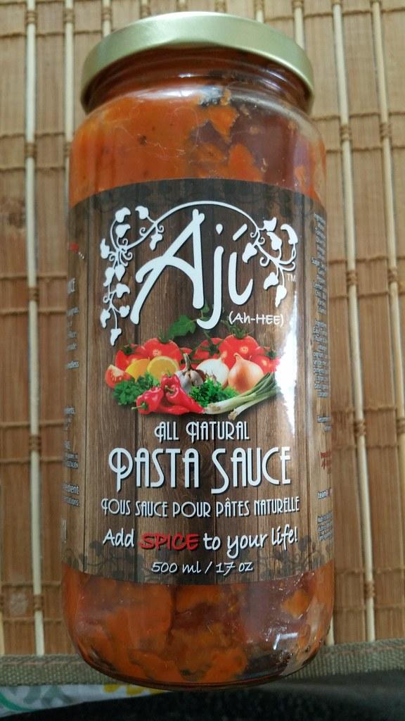2013-Mar-25 Aji Pasta Sauce