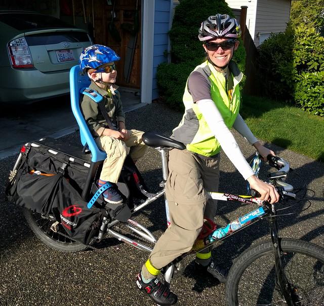 Ready to ride to preschool!