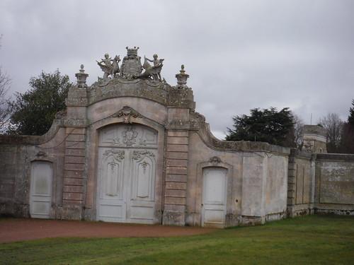 Wrest Park, Gate in Garden Wall