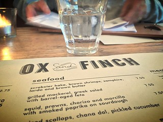 Ox & Finch, Glasgow SCOTLAND