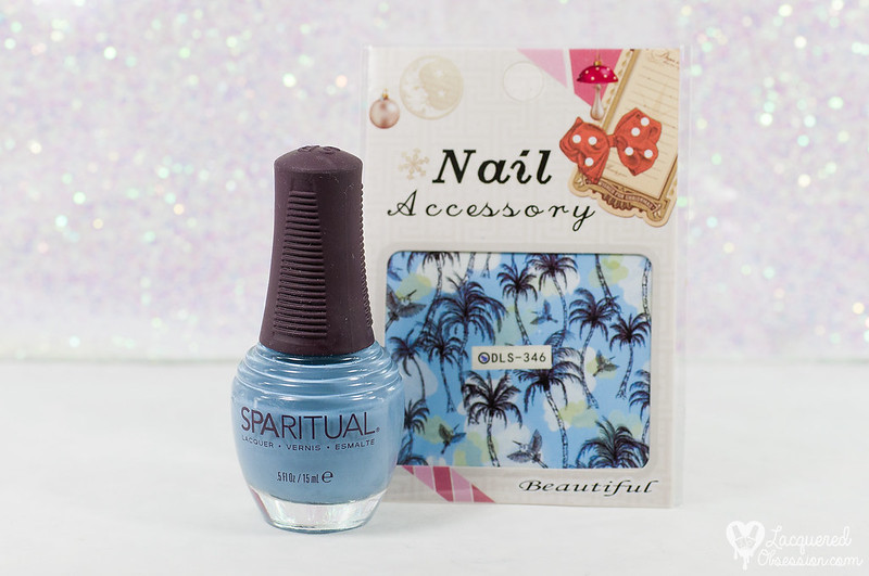 SpaRitual - Groove + tropical waterdecals