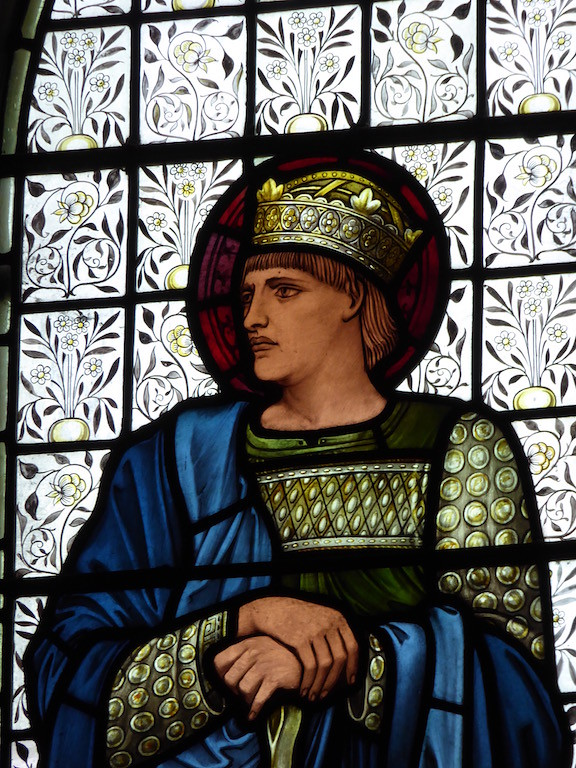 Burne-Jones windows in Speldhurst church Ashurst to Eridge walk