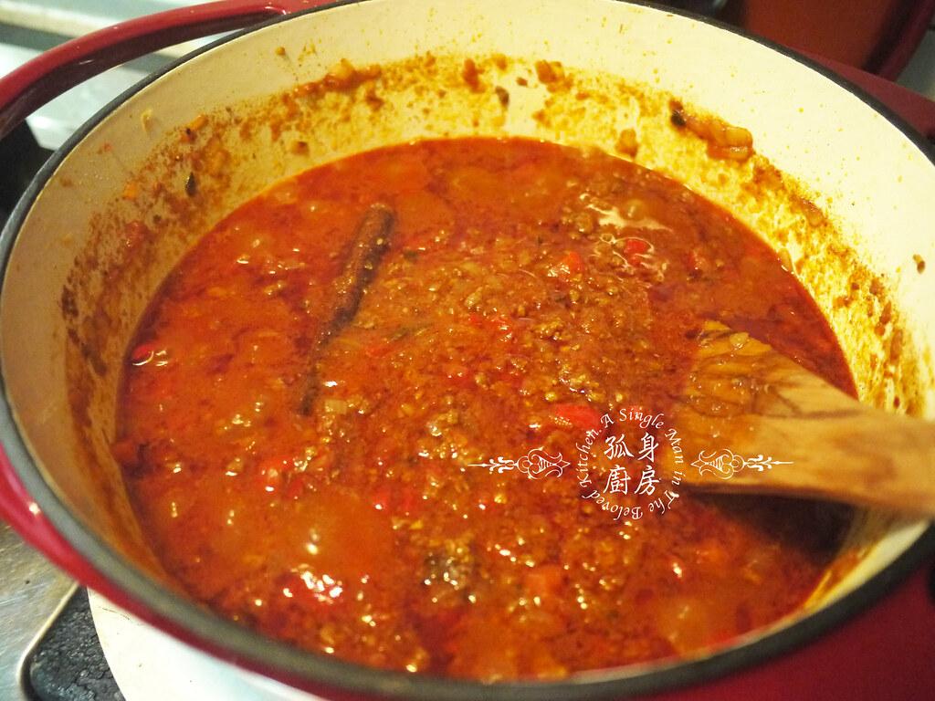 孤身廚房-墨西哥辣醬佐香米30