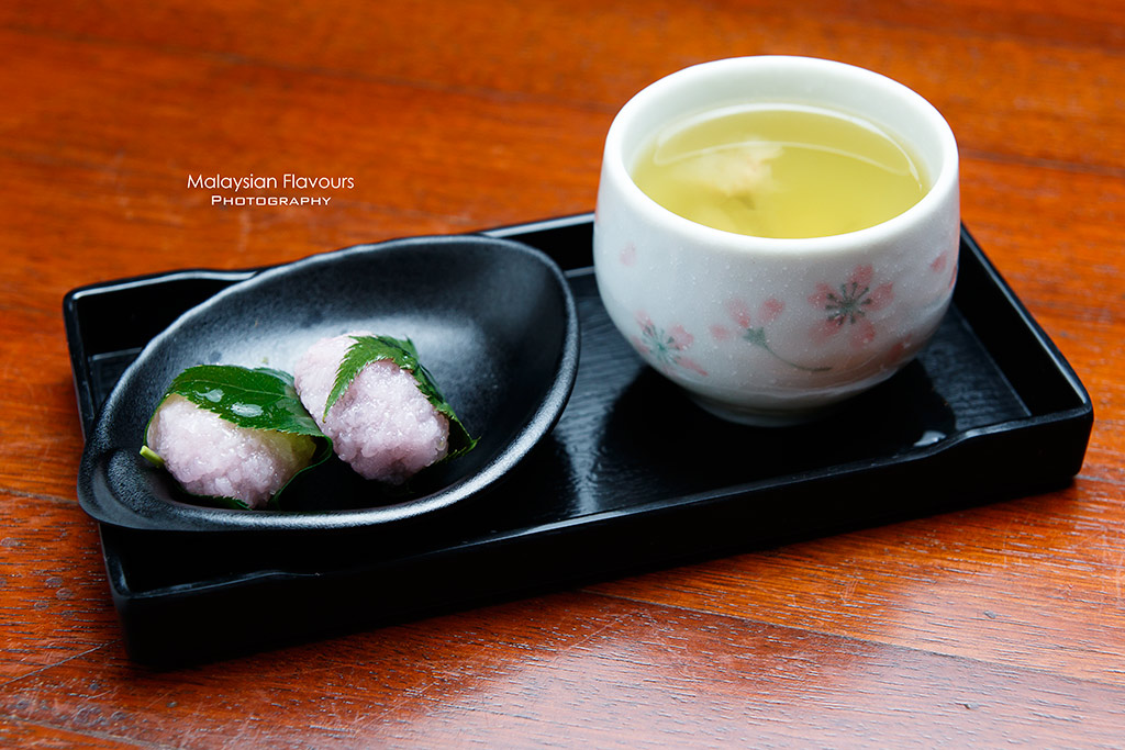 Tonkatsu by Wa Kitchen Pavillion KL Spring Delight wagashi set