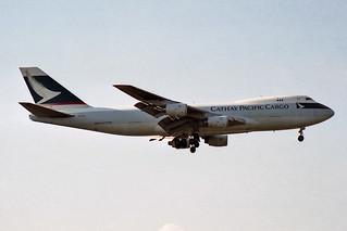 Cathay Pacific Airways Cargo Boeing 747-267F/SCD B-HVX