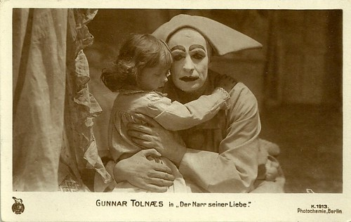 Gunnar Tolnaes in Pjerrot (1917)