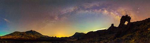 Teide-Guajara-Zapatilla De La Reina-Via Lactea