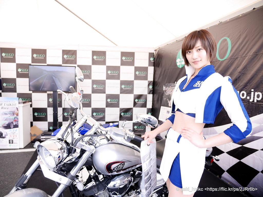 奥山かずさ 奥山かずさ / Motor Sport Japan 2016 Festival in Odaiba