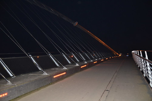 York Millennium Bridge Mar 16