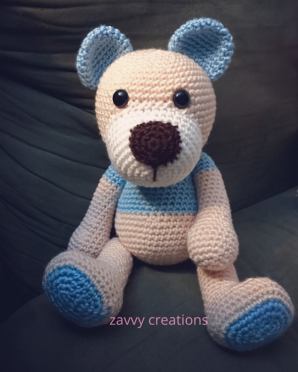 Bear Amigurumi - Seated