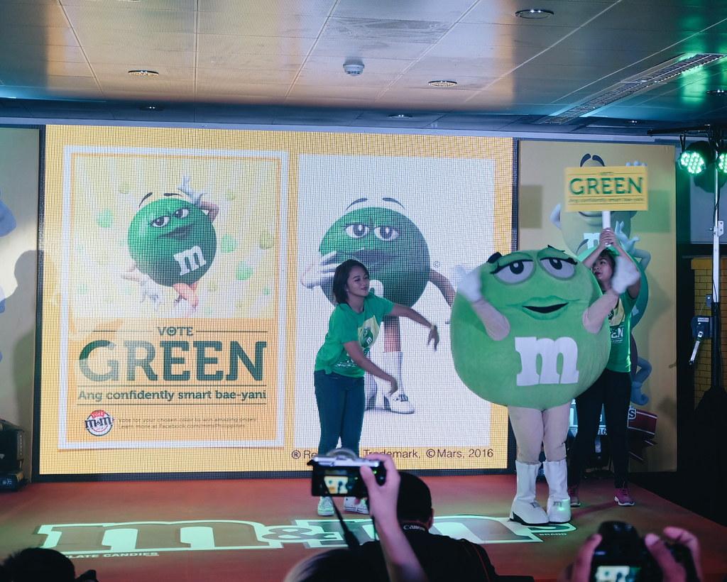 M&Ms Green