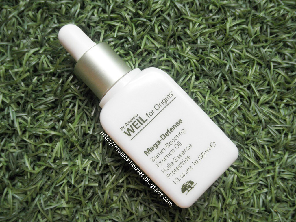 Origins Mega Defense Barrier Boosting Essence Oil