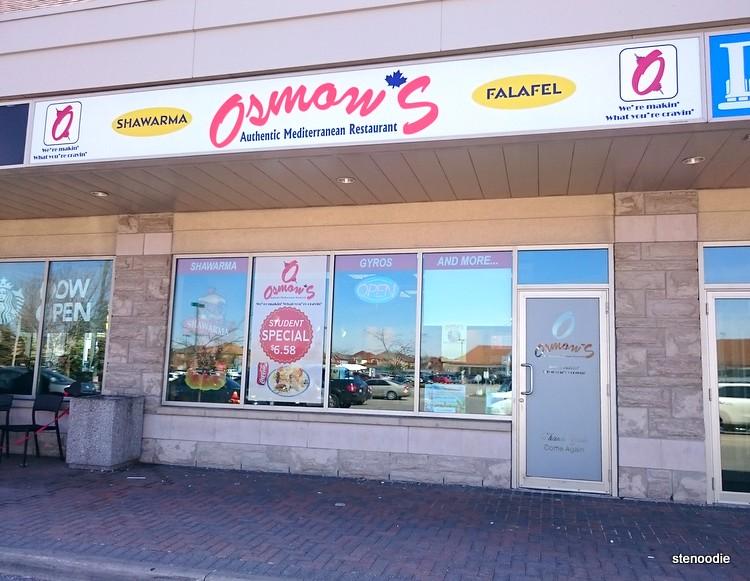 Osmow's Authentic Mediterranean Restaurant storefront