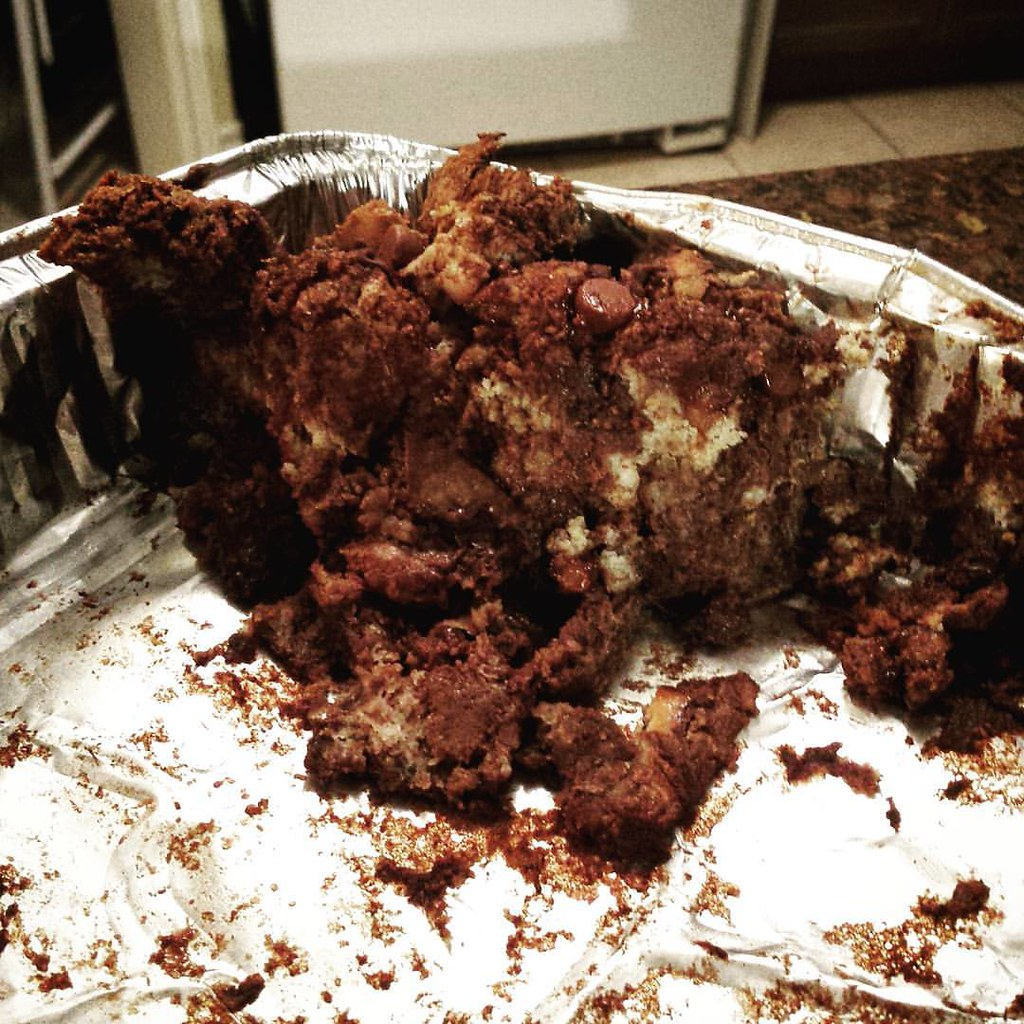 Belgian Chocolate Bread Pudding
