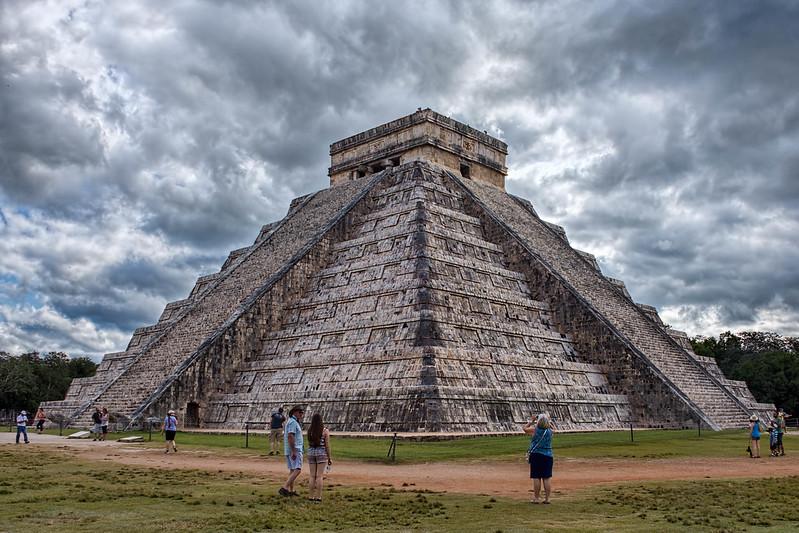 Chichén Itzá -El Templo de Kukulcán