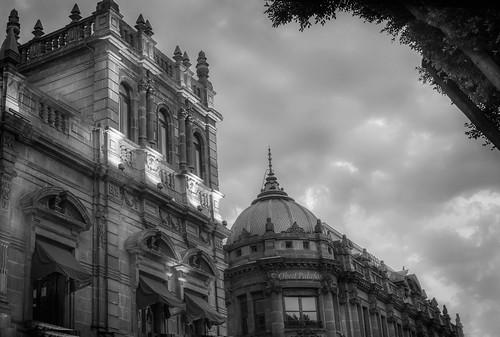 Detalle del Palacio Municipal de Puebla