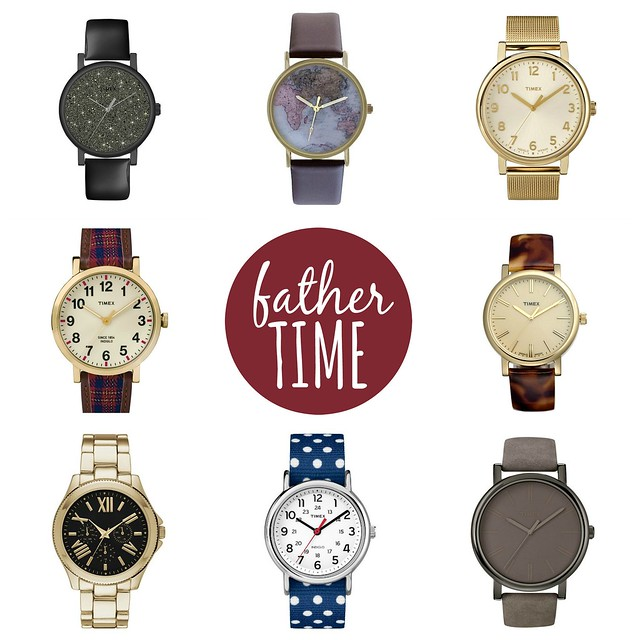 on trend Father Time watches for the new year