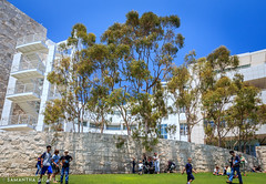The Getty Museum Lawn
