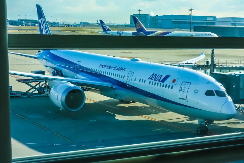JA836A Boeing 787  ANA
