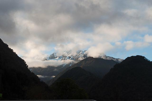 Tôt dans les Alpes