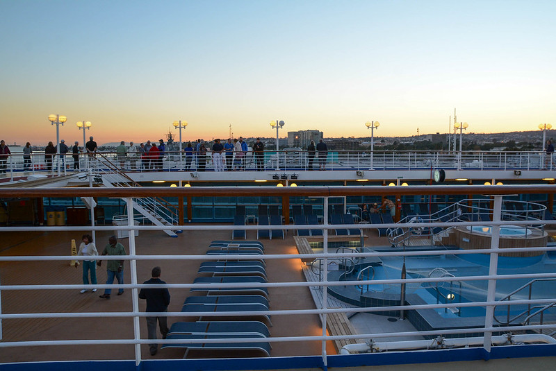 Pacific Princess Sun Deck